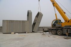 chinese company 3D prints 10 recycled concrete houses in 24 hours