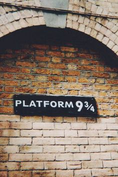 Platform 9 3/4, I went there when I was 9 and I freaked out, because I thought I'd really get to visit Hogwarts... Oh well