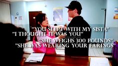 -Kate Todd & Tony DiNozzo undercover. This scene makes me laugh everytime. Lol