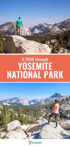 Highlights of a 3 day Yosemite National Park tour in California. Yosemite is one of the most popular USA national parks. When you visit California, put this park on your California travel list. #Yosemite #california #nationalparks #travel
