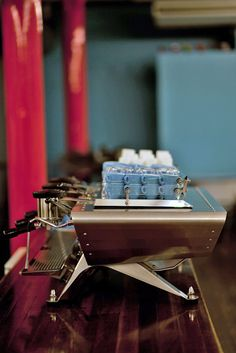 The Spirit, by Kees van der Westen. It's an espresso machine that feels like a Ford Mustang.