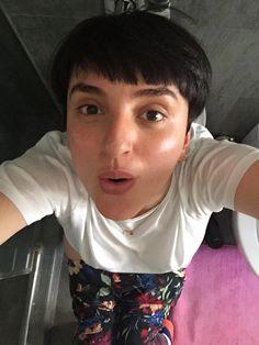 Arisa, un selfie sul
