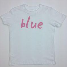 Blue, gender neutral, t-shirts by Quirkie Kids. Find it here: http://www.quirkiekids.com/#!product/prd14/4443579501/blue