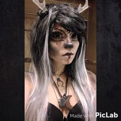Dark Faun Makeup Test by DecayedxElegance.deviantart.com on @DeviantArt