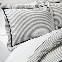 Yarn Dye Stripe Duvet Set - Threshold™