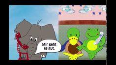 Felix und Franzi, Band 2, Kapitel 1 - Ein neues Telefon I used this clip in my 'Phone 1' lesson on www.zeitfuerdeutsch.com