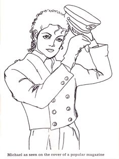 Michael Jackson coloring page | Free Printable Coloring Pages | 313x236