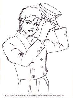page 10 coloring bookcolouringmichael jackson page 10