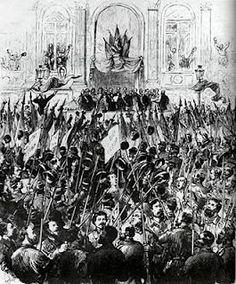 La Comuna de París es uno de los grandes acontecimientos revolucionarios protagonizados por la clase obrera. El 18 de marzo de 1871, los trabajadores franceses tomaron el poder en sus manos, y por primera vez se dio un hecho tan trascendente como fue el de arrebatar el poder a la burguesía y destinarse a construir una nueva sociedad.