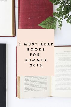 "Curl up with a good book this summer and make use of that old hammock in the yard. Here are 5 must read books for summer! The Nightingale is a story about sisters, love, and fighting for what's right amidst the backdrop of WWII. Me Before You begs the question, ""Can love really conquer all?"" You won't have a dry eye by the end. I Am Malala is the incredible, inspiring story of a girl who survived being shot by the Taliban and now has a Nobel Peace Prize. Visit eBay for more must read books."