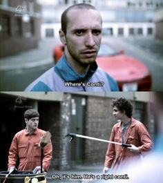 """""""did you think I was gonna let it go? I want my money"""" """".give the man his money"""" """".I haven't got your money. Nathan Misfits, Misfits Tv, Best Tv Shows, Movies And Tv Shows, Mis Fit, The Inbetweeners, Iwan Rheon, Robert Sheehan, All Tv"""