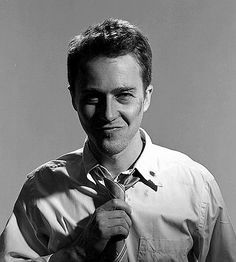 Edward Norton. Another brilliant actor. He can play anything or anyone, he is just awesome!
