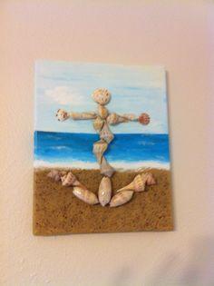 Sea shell art