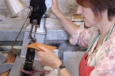 Shoemaking workshops with Green Shoes.