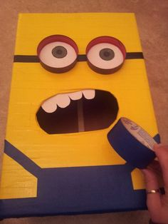 Despicable Me Minion Valentines Day Box