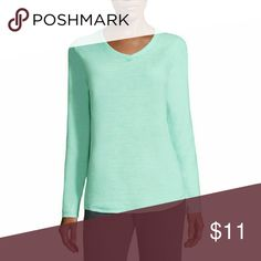 Made for Life Long-Sleeve V-Neck Fleece Pullover With cozy construction and style you can wear anytime, this fleece pullover will quickly become a favorite.  v-neck long sleeves fleece polyester washable imported Made for Life Sweaters V-Necks