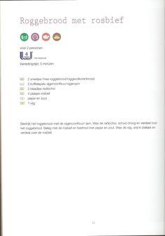 Weight Watchers - Roggebrood met rosbief