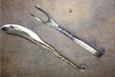 Horseshoe knife and fork