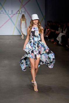 Talulah wind flys dress!