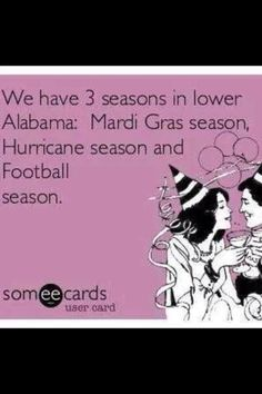 Seasons down south!