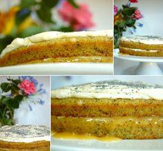 Cinco Quartos de Laranja: Bolo de courgette e limão com sementes de papoila