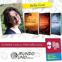 As 1001 Nuccias: [Mundo Uno Editora] - Lançamentos Bienal do Livro Rio 2017