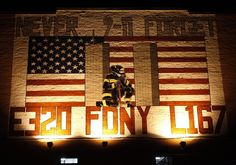A mural honoring victims of the September 11th attacks on the World Trade Center, in the Queens borough of New York, on Aug. 2.