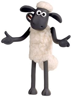 Sheep Cartoon, Timmy Time, Eid Crafts, Shaun The Sheep, Cartoon Stickers, Clay Figures, Cute Cartoon Wallpapers, Stop Motion, Character Drawing