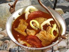 Szegedi vegyes halászlé recept