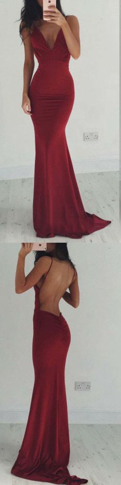 Prom Dress Fitted, Charming Prom Dress,Sexy Backless Burgundy Prom Dress Evening Party Dress There are delicate lace prom dresses with sleeves, dazzling sequin ball gowns, and opulently beaded mermaid dresses. Straps Prom Dresses, Backless Prom Dresses, Prom Dresses Online, Ball Dresses, Party Dresses, Dress Party, Prom Gowns, Bridesmaid Dresses, Burgundy Bridesmaid
