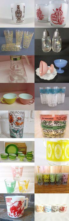 Hazel Atlas Glass by Claudia on Etsy--Pinned with TreasuryPin.com
