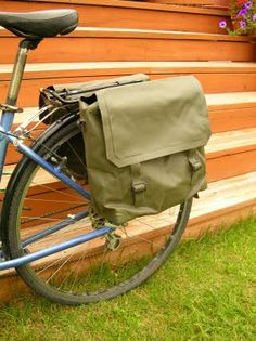 Dipping Lily: Bike Panniers - DIY style