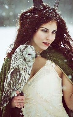 Owl Symbolism: Intuition, ability to see what others do not see - photo by Lais Dossin) Fantasy World, Fantasy Art, High Fantasy, Owl Symbolism, Fantasy Photography, Spirit Animal, Faeries, Character Inspiration, Vikings