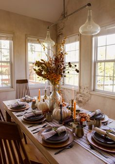 Autumn Table Setting Ideas | In Honor Of Design