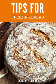 Whether it's made from scratch or grabbed straight off a supermarket shelf, most types of bread freeze very well. Here are our best tips on freezing breads. Moist Chocolate Chip Muffins, Apple Oatmeal Muffins, Best Homemade Bread Recipe, Homemade Muffins, Quick Bread, How To Make Bread, Bread Making, Freezing Bread, Muffin Bread