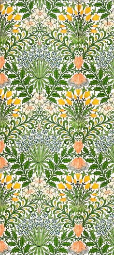 william Morris drawing inspiration