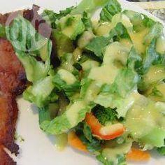 Foto de la receta: Aderezo con mostaza y albahaca