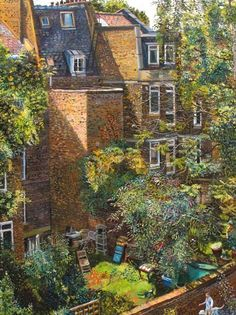 MELISSA SCOTT-MILLER Sunlight on Islington Gardens