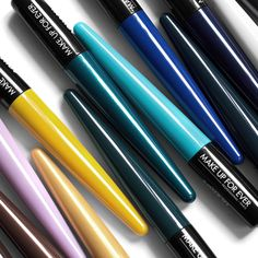 Make Up For Ever Aqua XL Ink Liners, review and swatches