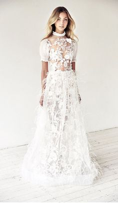 Looking for the best designer wedding dresses online? Suzanne Harward is Australia's leading designer in stunning lace & couture bridal dresses. Wedding Dress Trends, Wedding Dress Styles, Designer Wedding Dresses, Bridal Dresses, Wedding Gowns, Lace Wedding, Wedding Hair, Wedding Ideas, Wedding Decor