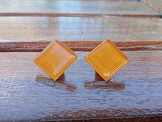 Orange Stud Earrings Orange is the new Black OITNB Orange