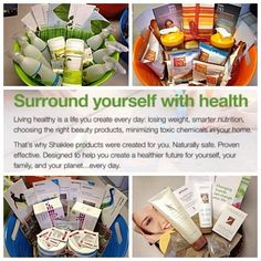 Shaklee offers everything you need to have a natural household
