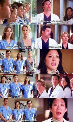 The Dream Team. | Grey's Anatomy | Pinterest | Grey ...