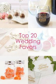 Planning a wedding? Find the best wedding favors all in one place!