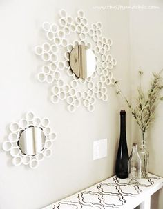 {DIY PVC Pipe Mirror!}