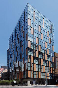 FUKUHARA GINZA 建築作品集 外壁・外装建材のアートテック