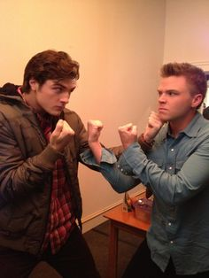 It's Team Matty vs. Team Jake!!! Whose side are you on?? AWKWARD Season 2... coming really really soon!! You're Welcome.