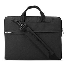 Lacdo 15-15.6 Inch Waterproof Fabric Laptop Shoulder Bag Laptop Sleeve Bag  Notebook Case for 43c73cccc40e8
