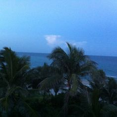 The Omphoy Ocean Resort, Palm Beach // view from the balcony