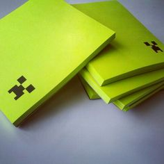 minecraft birthday favors - notepads